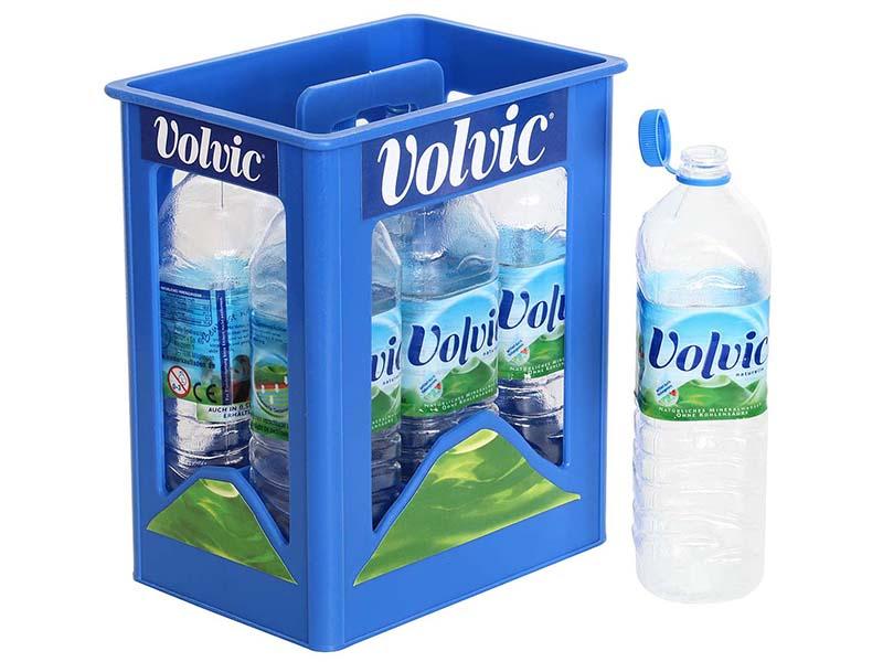 Acheter Caisse de mini bouteilles Volvic - 12,99€ en ligne sur La Petite Epicerie - Loisirs créatifs