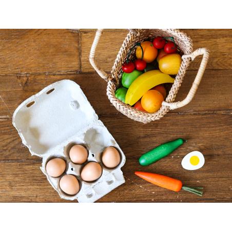 Acheter Boite d'œufs - jouet en bois pour dinette - 5,99€ en ligne sur La Petite Epicerie - Loisirs créatifs