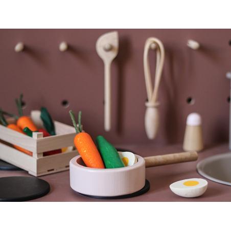 Acheter Concombre - jouet en bois pour dinette - 1,99€ en ligne sur La Petite Epicerie - 100% Loisirs créatifs