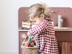 Acheter Aubergine - jouet en bois pour dinette - 4,99€ en ligne sur La Petite Epicerie - 100% Loisirs créatifs