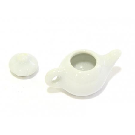 Théière ronde - pour vitrines miniatures et bijoux gourmands