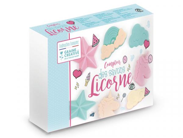 Acheter Coffret fabrique tes savons Licorne - 20,99€ en ligne sur La Petite Epicerie - 100% Loisirs créatifs