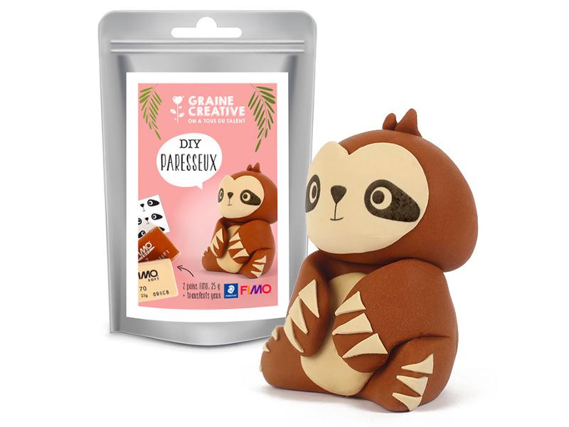 Acheter Mini Kit FIMO - Le Paresseux - 6,99€ en ligne sur La Petite Epicerie - Loisirs créatifs