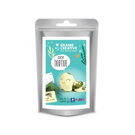 Acheter Mini Kit FIMO - La Tortue - 6,29€ en ligne sur La Petite Epicerie - Loisirs créatifs