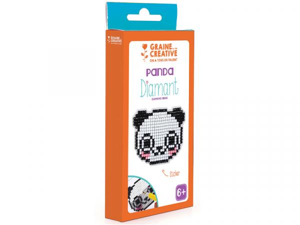 Acheter Kit Diamant mosaïque - Panda - 2,49€ en ligne sur La Petite Epicerie - Loisirs créatifs