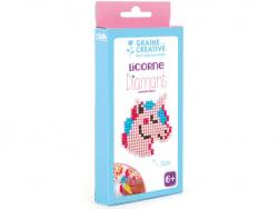 Acheter Kit Diamant mosaïque - Licorne - 2,49€ en ligne sur La Petite Epicerie - Loisirs créatifs