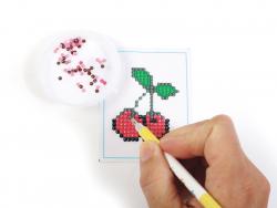 Acheter Kit Diamant mosaïque - Cerise - 2,49€ en ligne sur La Petite Epicerie - Loisirs créatifs