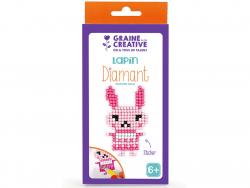 Acheter Kit Diamant mosaïque - Lapin - 2,49€ en ligne sur La Petite Epicerie - Loisirs créatifs