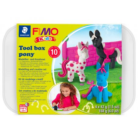 Acheter Kit Fimo kids - Création de poney - 18,99€ en ligne sur La Petite Epicerie - Loisirs créatifs
