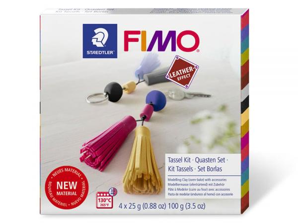 Acheter Coffret kit de fabrication en Fimo cuir - Création de tassel - 12,49€ en ligne sur La Petite Epicerie - Loisirs créa...