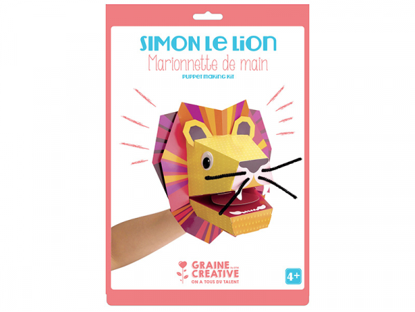 Acheter Kit de création de marionnette de main - Lion - 5,89€ en ligne sur La Petite Epicerie - Loisirs créatifs
