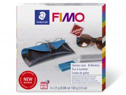 Acheter Coffret kit de fabrication en Fimo cuir - Etui à lunettes - 12,49€ en ligne sur La Petite Epicerie - Loisirs créatifs