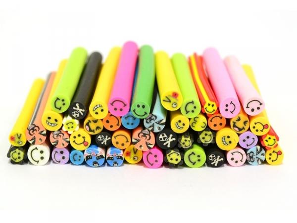 45 smiley canes