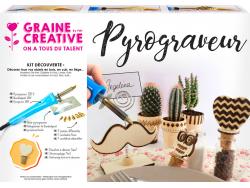 Acheter Kit complet de Pyrogravure - 28,99€ en ligne sur La Petite Epicerie - Loisirs créatifs