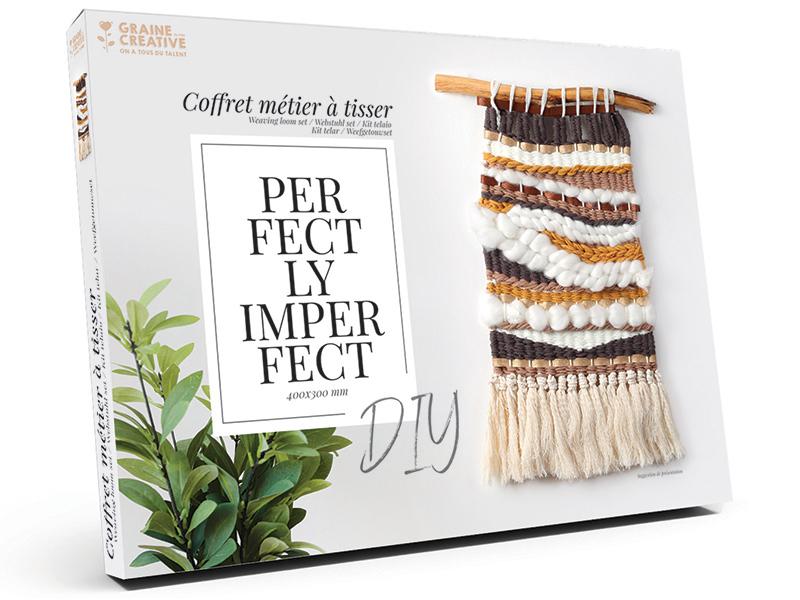 Acheter Coffret Métier à tisser - Boho-chic - Grand modèle - 28,99€ en ligne sur La Petite Epicerie - Loisirs créatifs