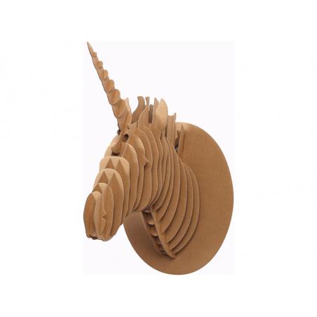 Acheter Trophée en carton 3D Licorne - 5,99€ en ligne sur La Petite Epicerie - Loisirs créatifs