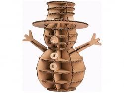 Acheter Maquette en carton 3D - Bonhomme de neige - 2,49€ en ligne sur La Petite Epicerie - Loisirs créatifs