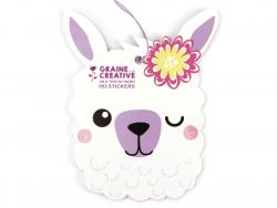 Acheter Carnet de 183 stickers - Lama - 3,49€ en ligne sur La Petite Epicerie - Loisirs créatifs