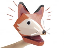 Acheter Kit de création de marionnette de main - Renard - 5,89€ en ligne sur La Petite Epicerie - Loisirs créatifs