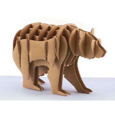 Acheter Maquette en carton 3D - Fabrique ton ours - 2,49€ en ligne sur La Petite Epicerie - Loisirs créatifs