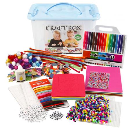 Acheter Enorme boîte de bricolage box kids - activités créatives pour enfants - 39,99€ en ligne sur La Petite Epicerie - Loi...