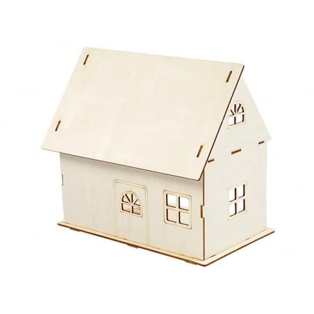 Acheter Kit de construction d'une maison de poupée - 9,99€ en ligne sur La Petite Epicerie - Loisirs créatifs