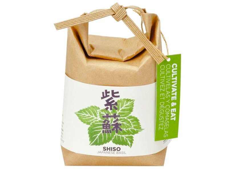 """Acheter Kit """"Cultivez et mangez"""" - shiso / pérille - Petit sac japonais pour faire pousser une plante - 9,99€ en ligne sur L..."""