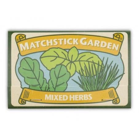 Acheter Allumettes graines d'herbes aromatiques à faire pousser - 2,59€ en ligne sur La Petite Epicerie - Loisirs créatifs