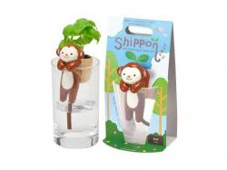 Acheter Kit pour faire pousser ta plante - singe dans un verre - basilic - 14,99€ en ligne sur La Petite Epicerie - 100% Loi...