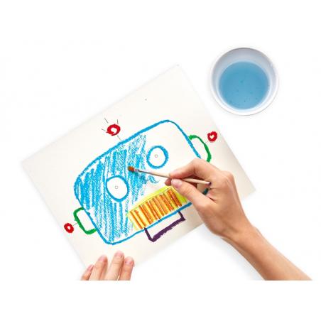 Acheter Boite de 6 crayons de cire aquarellables - 6,89€ en ligne sur La Petite Epicerie - Loisirs créatifs