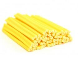 Cane noeud jaune- modelage et pâte fimo