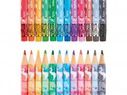 Acheter 12 crayons de couleur avec gomme - motif licornes - 11,49€ en ligne sur La Petite Epicerie - Loisirs créatifs