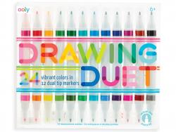Acheter 12 feutres double pointe - couleurs pop - 18,99€ en ligne sur La Petite Epicerie - Loisirs créatifs