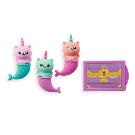 Acheter Gommes parfumées chats sirènes licornes - parfum cupcake à la vanille - 6,99€ en ligne sur La Petite Epicerie - Lois...