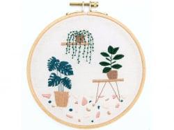Acheter Kit de broderie traditionnelle - botanique par Slow evenings - 25,99€ en ligne sur La Petite Epicerie - Loisirs créa...
