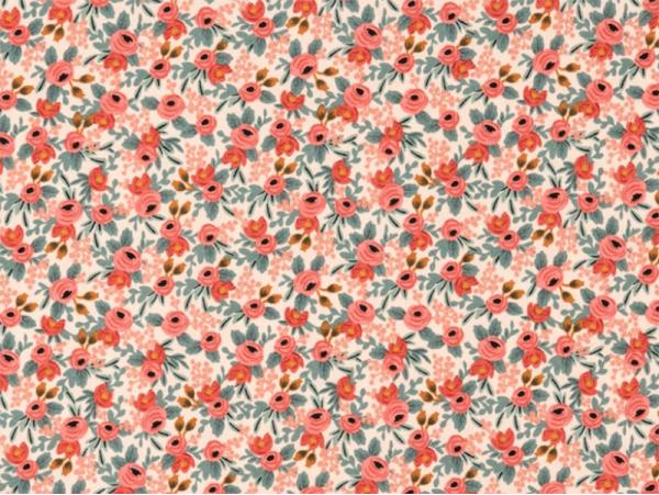 Acheter Tissu coton Rifle Paper - Rosa Peach - 2,41€ en ligne sur La Petite Epicerie - Loisirs créatifs