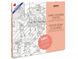 Acheter Poster géant en papier à colorier - DANCE - 22,90€ en ligne sur La Petite Epicerie - Loisirs créatifs