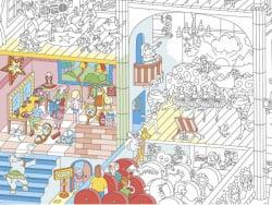 Acheter Poster géant en papier à colorier - DANCE - 10,89€ en ligne sur La Petite Epicerie - Loisirs créatifs