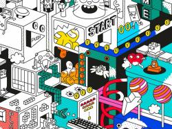 Acheter Poster géant en papier à colorier avec lunettes 3D - 15,89€ en ligne sur La Petite Epicerie - Loisirs créatifs