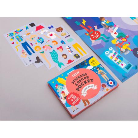 Acheter Poster et 50 stickers - Fashion - 7,99€ en ligne sur La Petite Epicerie - Loisirs créatifs