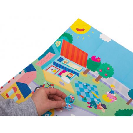 Acheter Poster et 50 stickers - Ville - 7,99€ en ligne sur La Petite Epicerie - Loisirs créatifs
