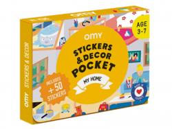 Acheter Poster et 50 stickers - Maison - 7,99€ en ligne sur La Petite Epicerie - Loisirs créatifs