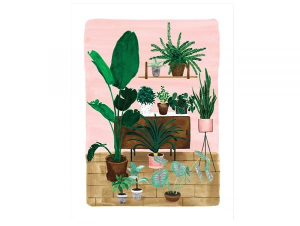 Acheter Affiche aquarelle - Living room - 18 x 24 cm - 11,99€ en ligne sur La Petite Epicerie - Loisirs créatifs