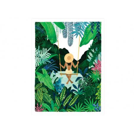Acheter Affiche aquarelle - Balançoire - 18 x 24 cm - 11,99€ en ligne sur La Petite Epicerie - Loisirs créatifs