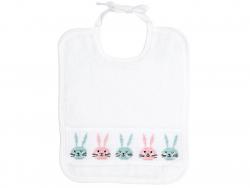 Acheter Kit de point de croix - petit bavoir lapin - 11,99€ en ligne sur La Petite Epicerie - Loisirs créatifs