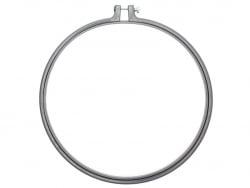 Acheter Tambour à broder - 25,4 cm - gris - 4,99€ en ligne sur La Petite Epicerie - Loisirs créatifs