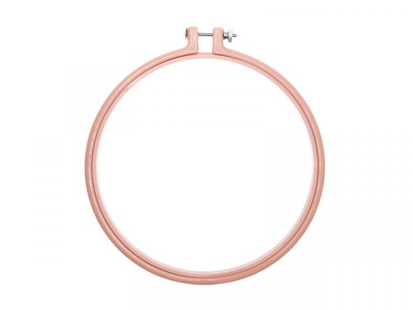 Acheter Tambour à broder - 17,8 cm - rose poudre - 4,19€ en ligne sur La Petite Epicerie - Loisirs créatifs