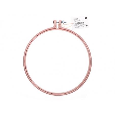 Acheter Tambour à broder - 20,3 cm - rose / mauve - 4,49€ en ligne sur La Petite Epicerie - Loisirs créatifs