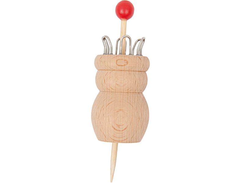 Acheter Tricotin en bois traditionnel à 6 branches - 4,49€ en ligne sur La Petite Epicerie - Loisirs créatifs