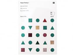 Acheter Bloc de papier à paillettes A4 - couleurs de Noël - 10,99€ en ligne sur La Petite Epicerie - Loisirs créatifs